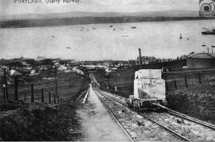 Merchant railway Portland Dorset